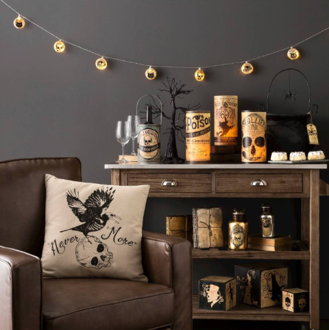 20 elegant halloween decorating ideas edgar allen poe creepy and b79ddfc60f08a710cb1e9482424ad9c1 53550683048281852