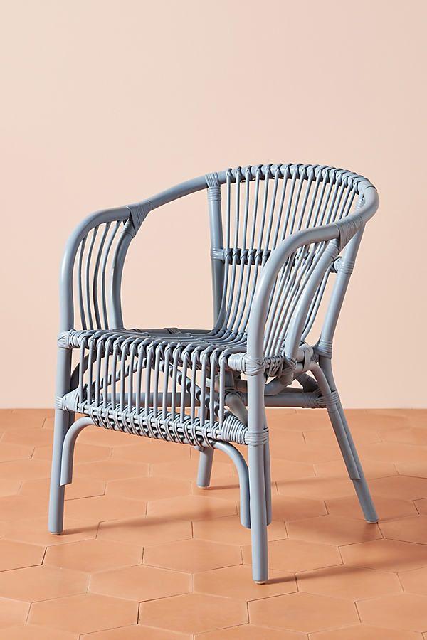 Pari Rattan Chair Wicker Cushions