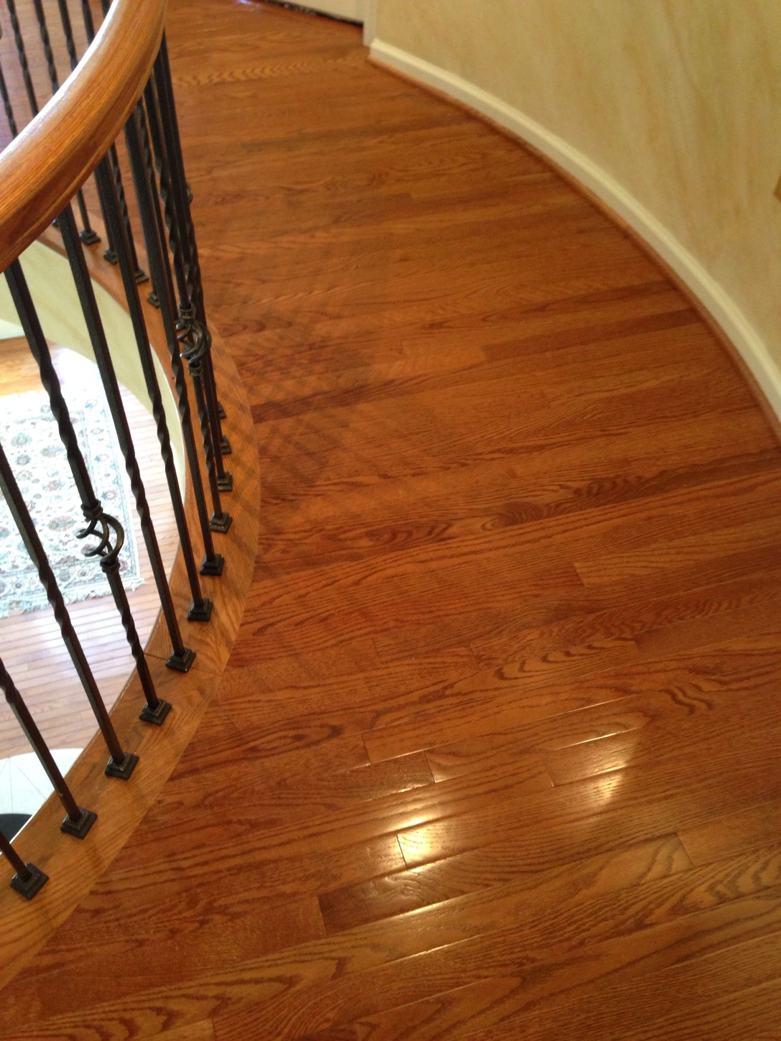 Edgewater Hardwood Hallway After With Images Hardwood Installation Hardwood Hardwood Floors