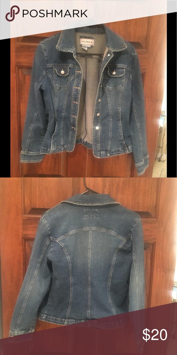 89202f5191b A.M.I. Denim Jacket A.M.I. Denim Jacket size Med A.M.I. Jackets   Coats  Jean Jackets
