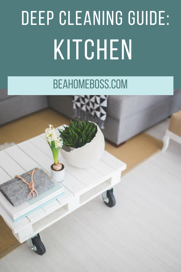 the best guide to deep cleaning your kitchen. tips and tricks that ...