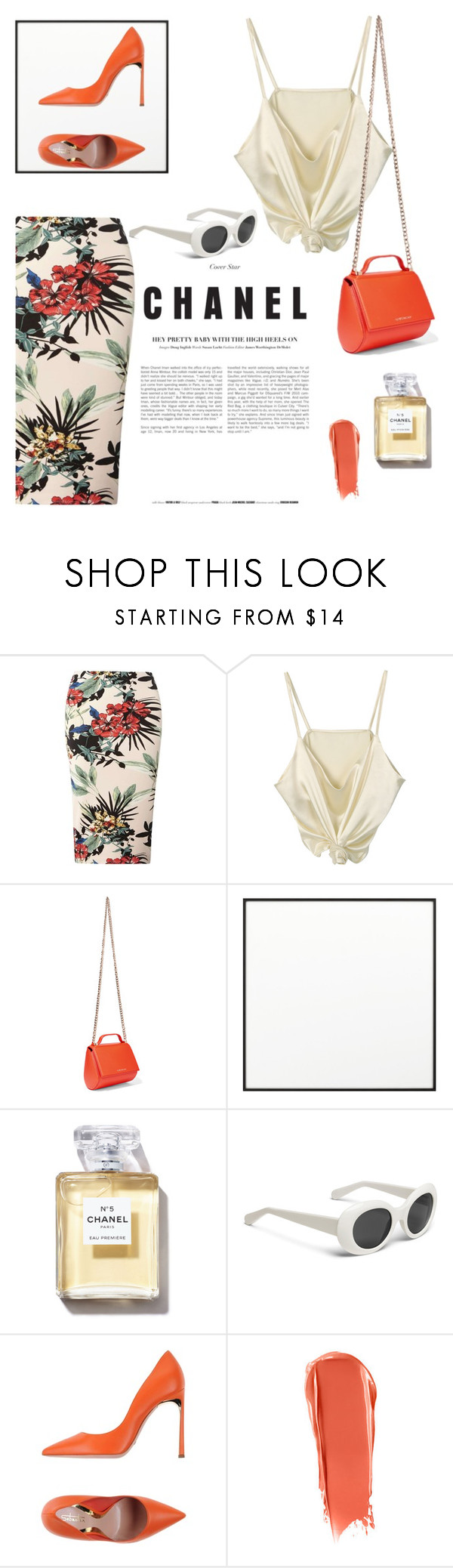 """back to the 60's"" by grodell ❤ liked on Polyvore featuring Dorothy Perkins, Givenchy, By Lassen, Chanel and Sebastian Professional"