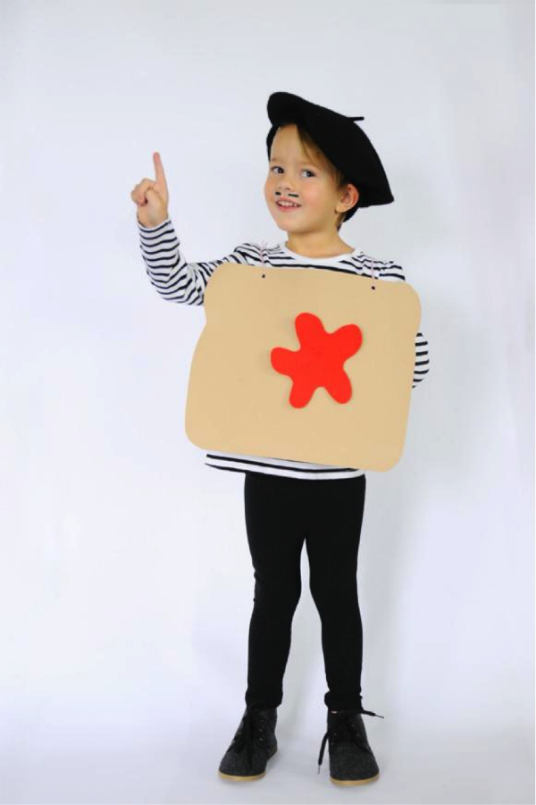 DIY French Toast Costume Last Second Costume by Small