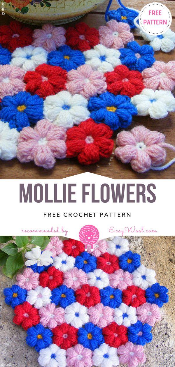 Free Crochet Flower Patterns Free Crochet Flower Patterns Free