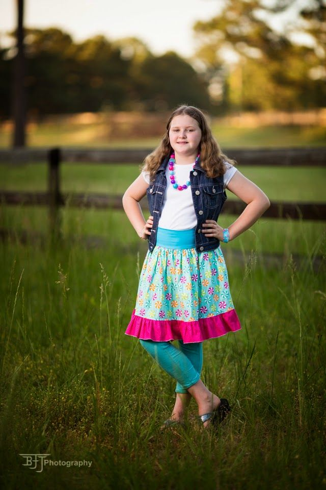 Sewing In BeTween Everyday Play Skirt by LLK | Sewing Patterns in ...
