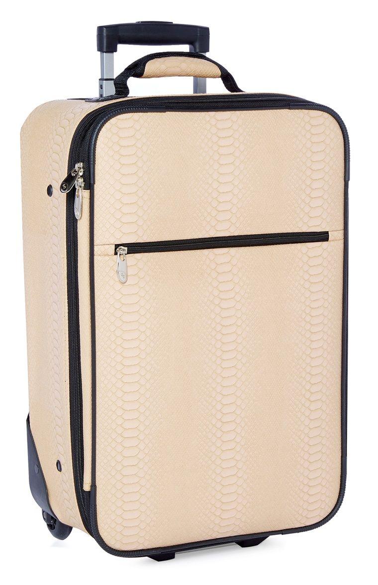 Primark Maleta De Mano De Piel De Serpiente Best Luggage