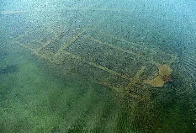 1500 year old basilica discovered submerged under Lake Iznik in Turkey