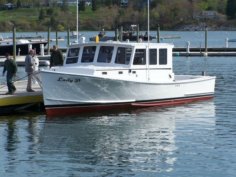 36ft Wayne Beal Wood Boat Plans Plywood Boat Plans Wooden Boat Plans