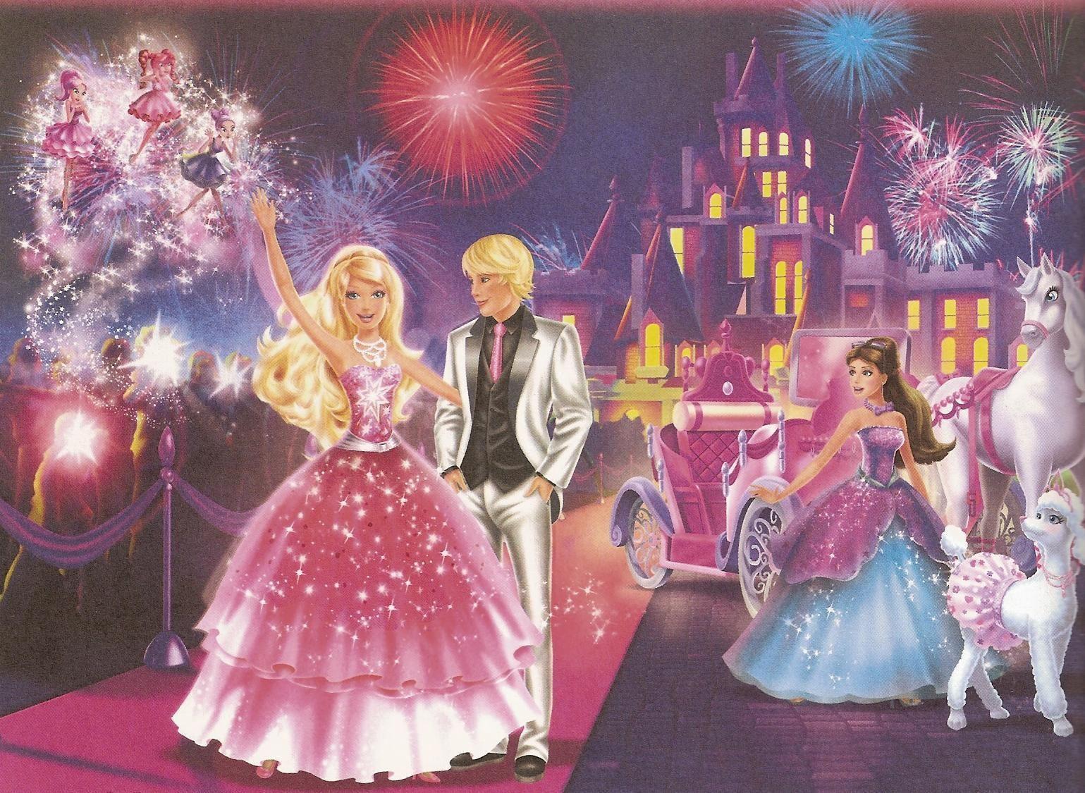 Barbie Mobili ~ Barbie a fashion fairytale wallpaper character of barbie
