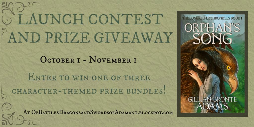 Gillian's book is finally out and she's hosting a big contest with awesome prizes over on her blog!