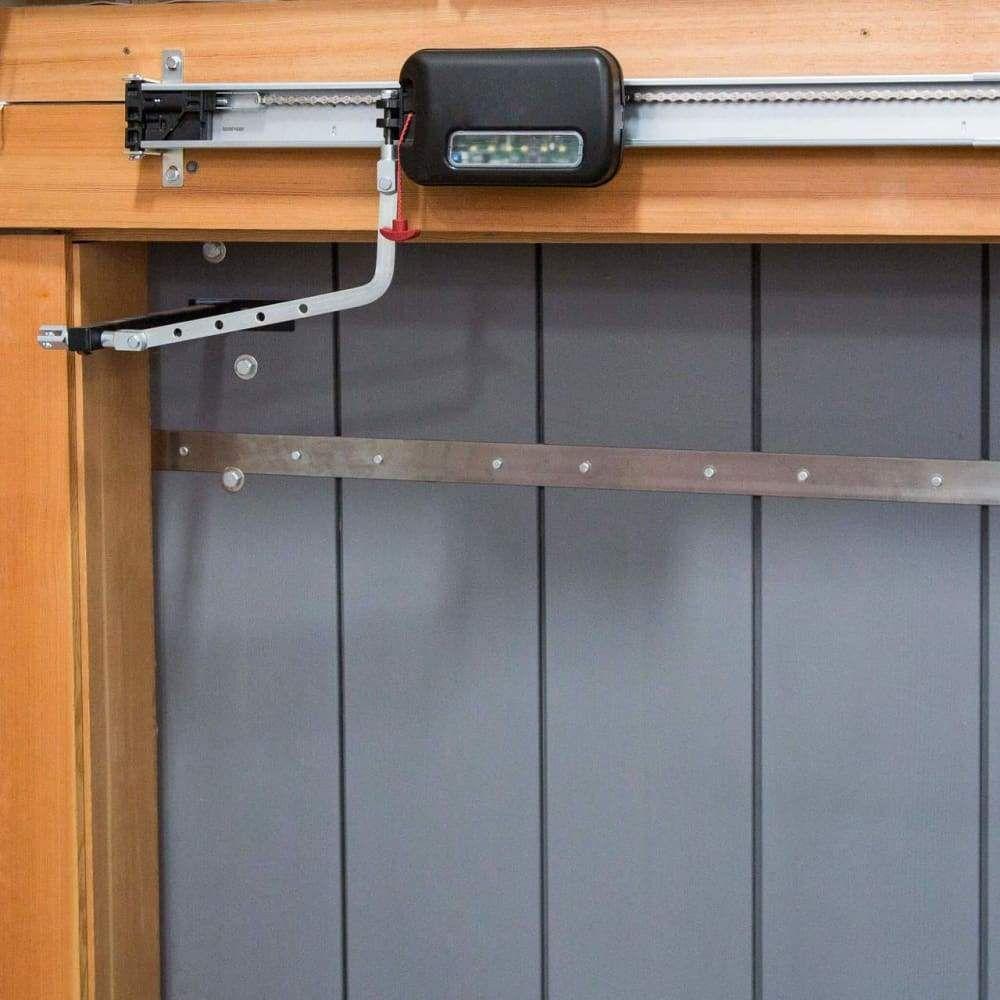 Edison sliding opener aos for garage doors and pole