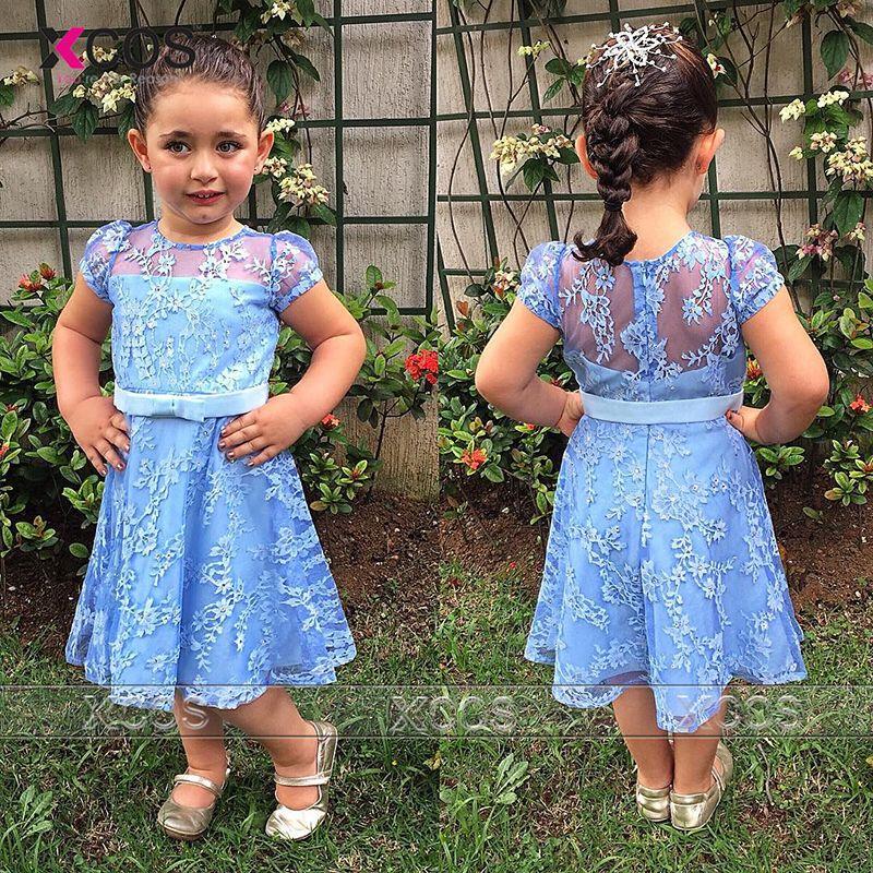 flower girl dress dropship