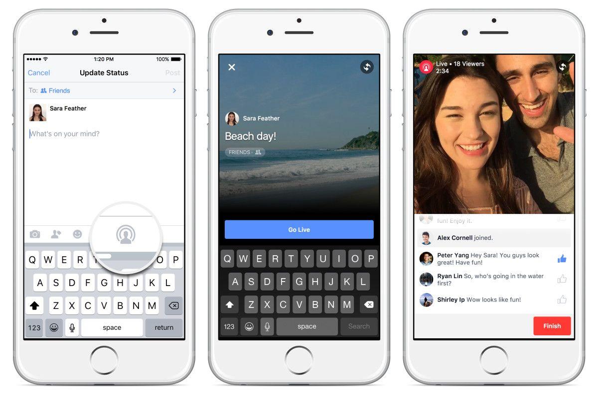 Facebook ya es como Periscope: cualquiera puede emitir vídeo en directo