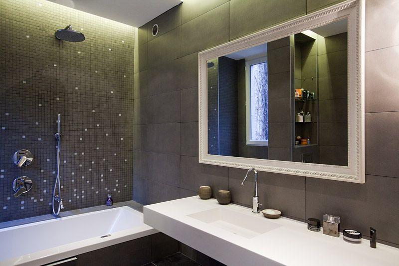 salle de bains anthracite - Recherche Google salles de bain