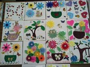 Decorating Tiles Crafts Decorate a Ceramic Tile Crafts Pinterest Decorating and Crafts 1