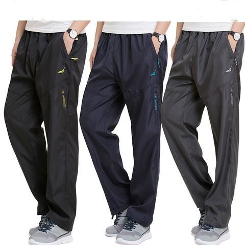 eeb606eebf4 Plus Size 4XL 5XL 6XL Men s Sweatpants Outside joggers Exercise Pants Men  Sportswear Working Active Pants Male pockets Trousers