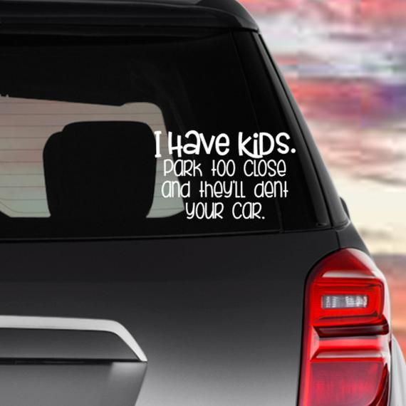 "Love Happy Baby Decal White Gloss Car Vinyl Sticker 6/"" Rear Window Truck Van SUV"