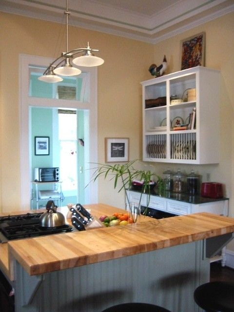 Would Love The Butcher Block Top For My Breakfast Bar