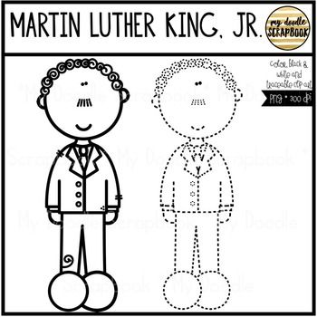 Martin Luther King Jr Clip Art For Personal Commercial Use Martin Luther King Martin Luther Luther
