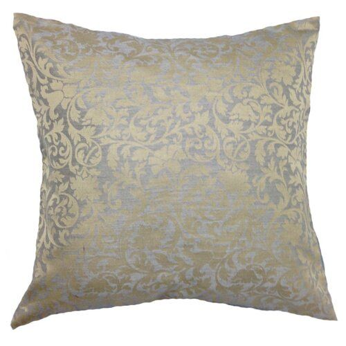 Fairmont Park A soft and cosy cushion, simple in its floral embroidery but bold in its colour. Colour: Silver