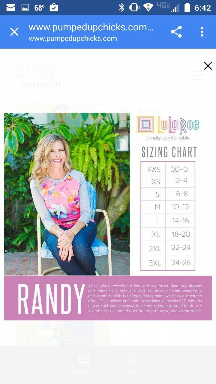 Lularoe Randy Size Chart : lularoe, randy, chart, Randy, Shirt, Sizing, Lularoe, Styling,, Styles, Guide,
