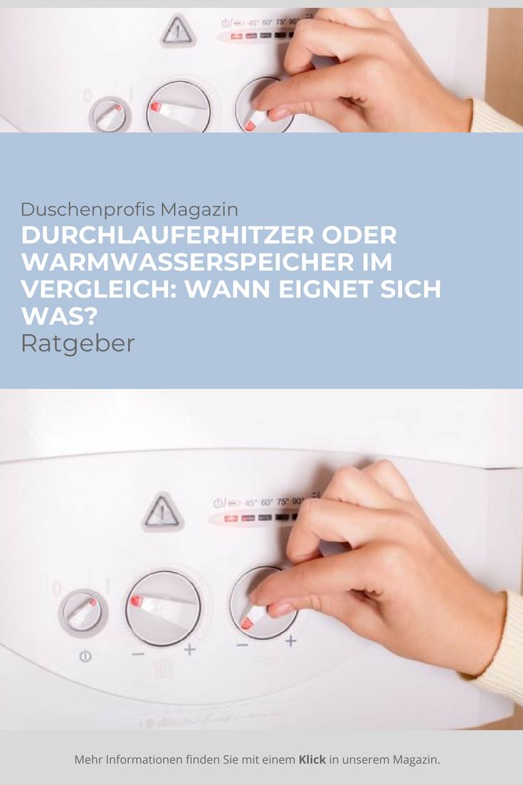 Durchlauferhitzer Oder Warmwasserspeicher Was Ist Besser Durchlauferhitzer Speicher Badplanung