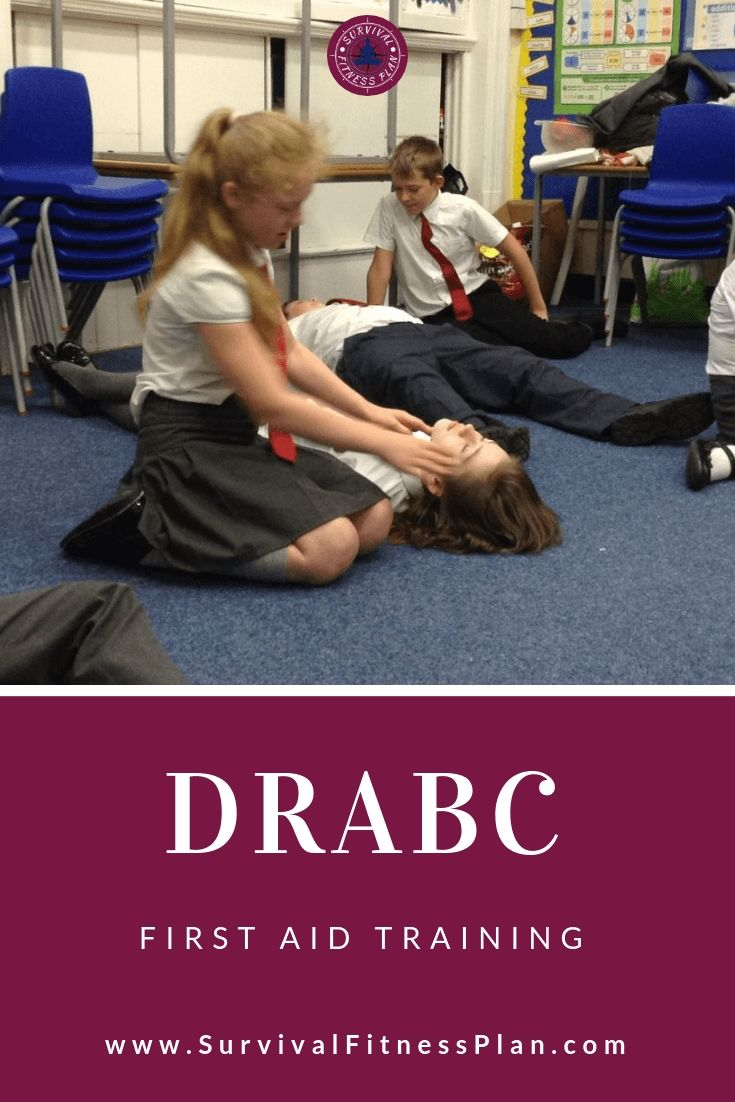 Save Lives with First Aid DRABC Workout plan, First aid