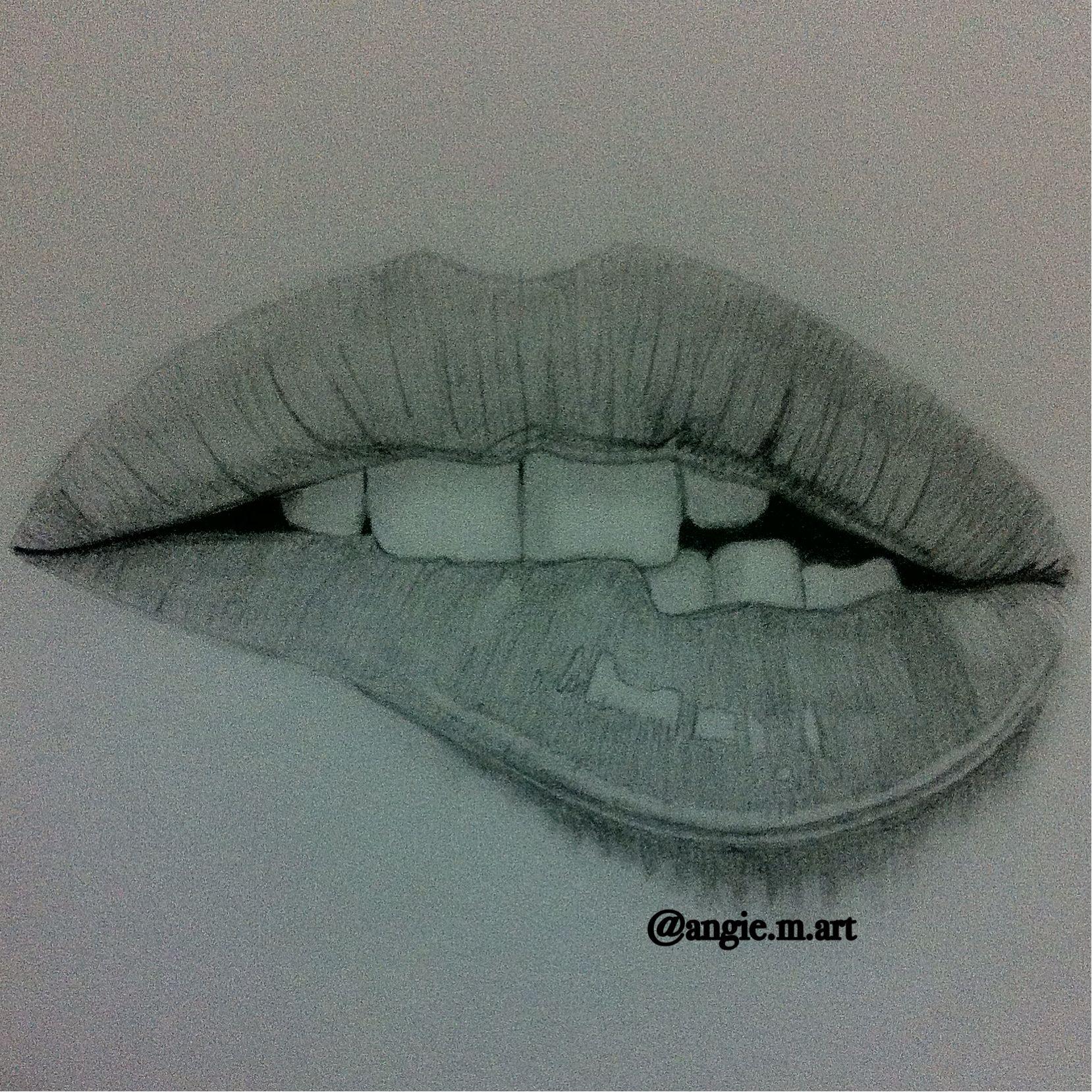 Art Drawings: Best 25+ Drawing Lips Ideas On Pinterest