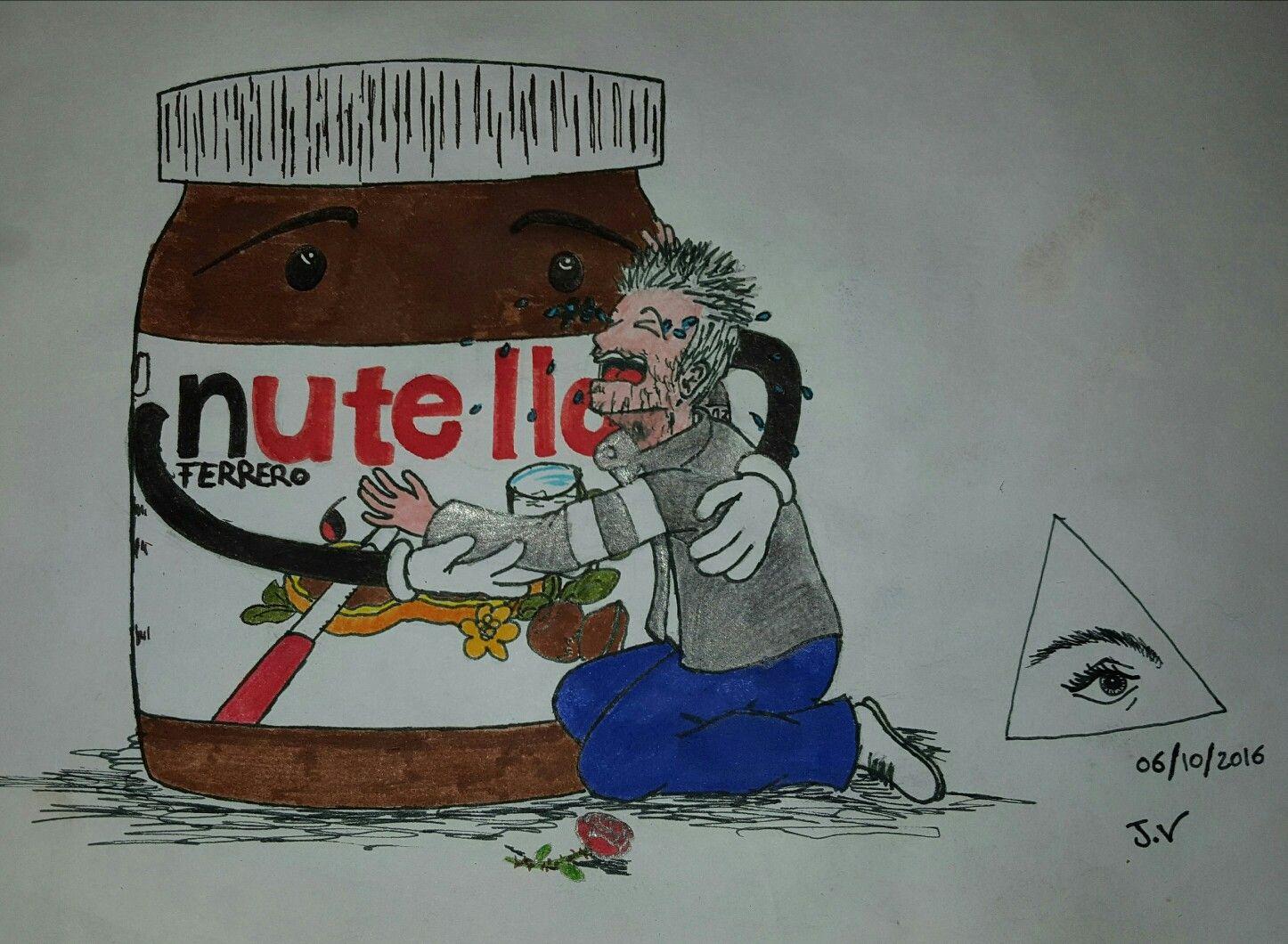 Instant de solitude... #nutella