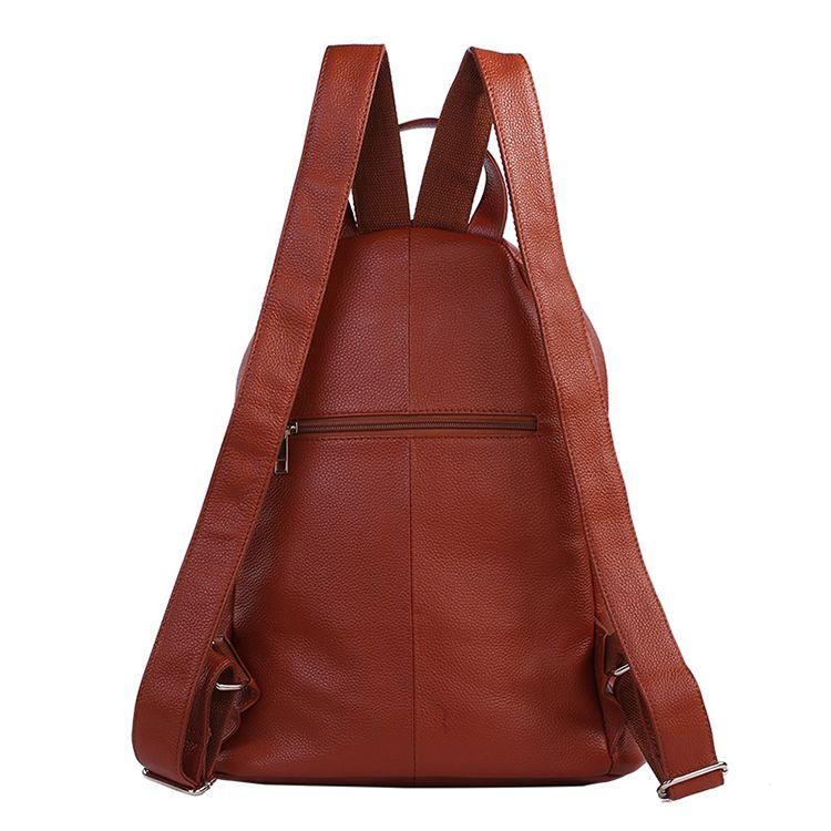 945584a41 Mochilas de cuero marrón grande online con el precio de outlet bolsos de  moda