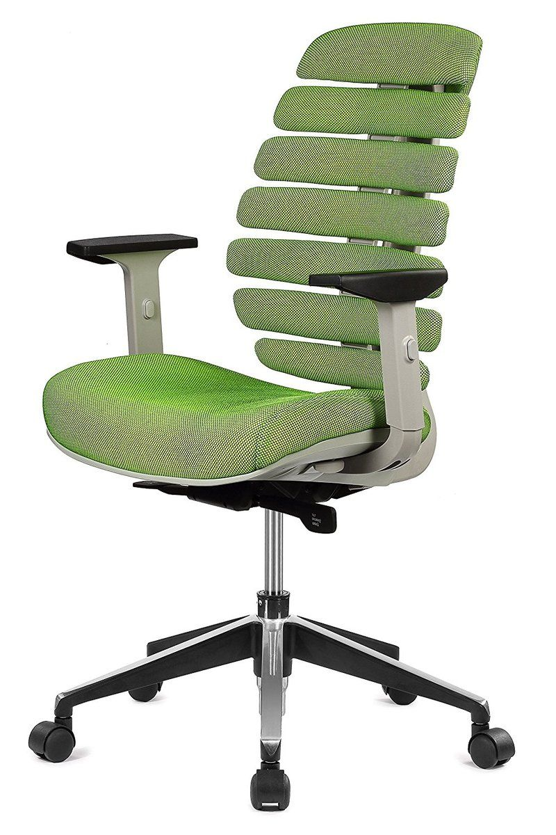 Ergo Hq The Spine Executive Mid Back Fabric Mesh Chair With