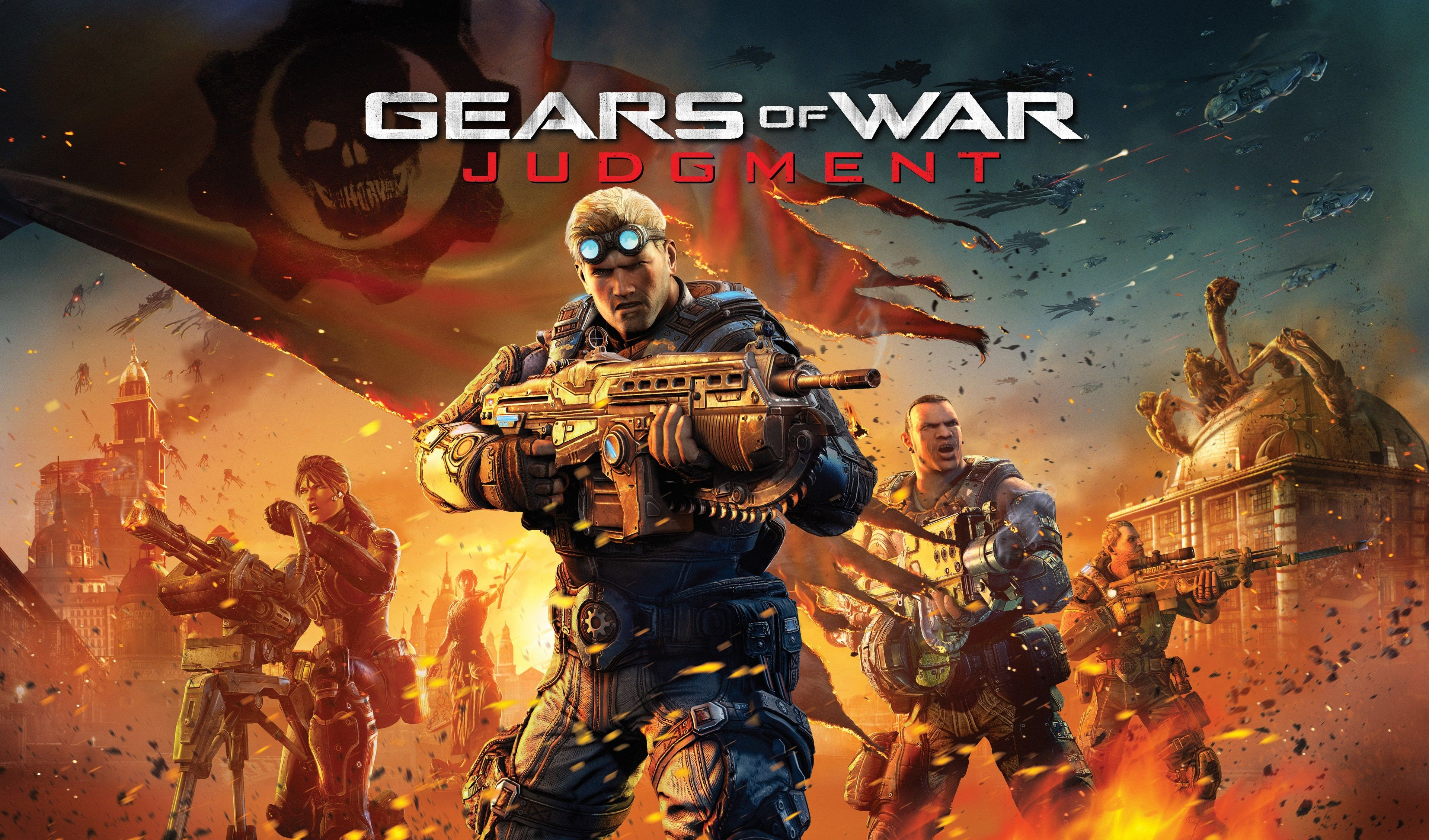 3840x2259 Gears Of War 4k Computer Wallpaper Desktop Background Gears Of War Gears Of War Judgment Xbox 360 Games
