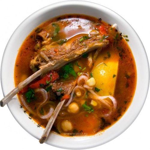 Суп шурпа рецепт приготовления
