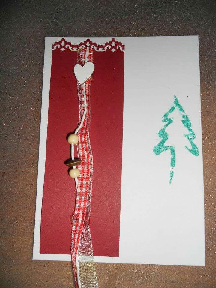 Joulukortti takavuosilta