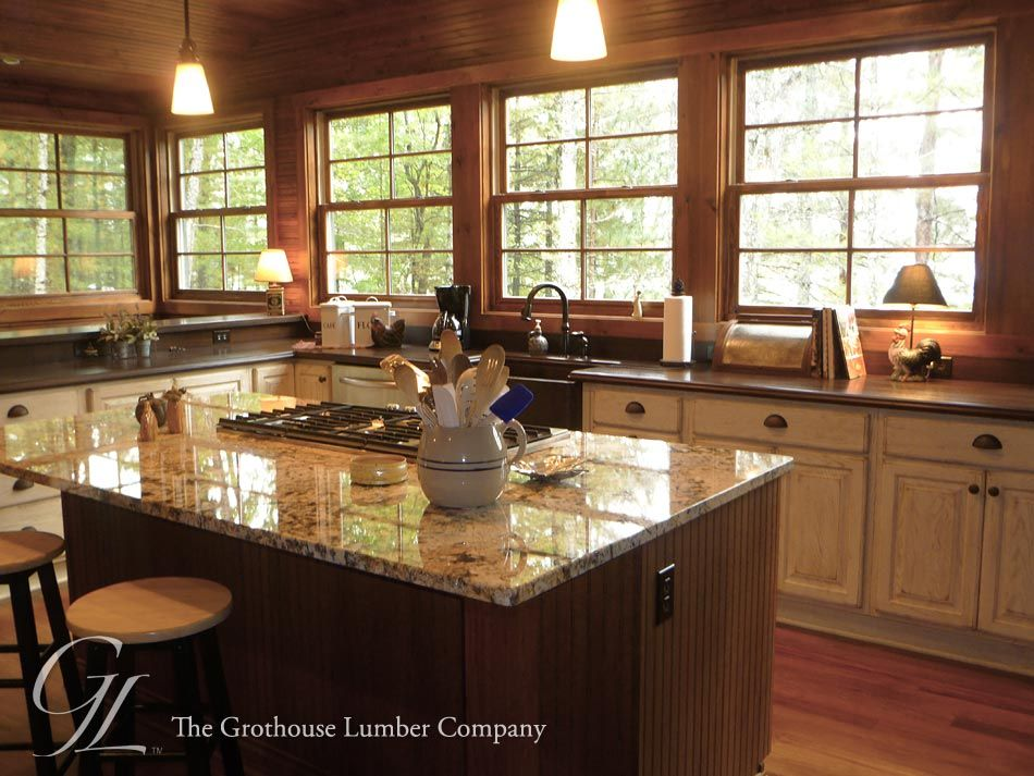 Featured Project Of The Week, Sapele Mahogany Wood Countertops Designed By  Cooper Designs #woodcountertops