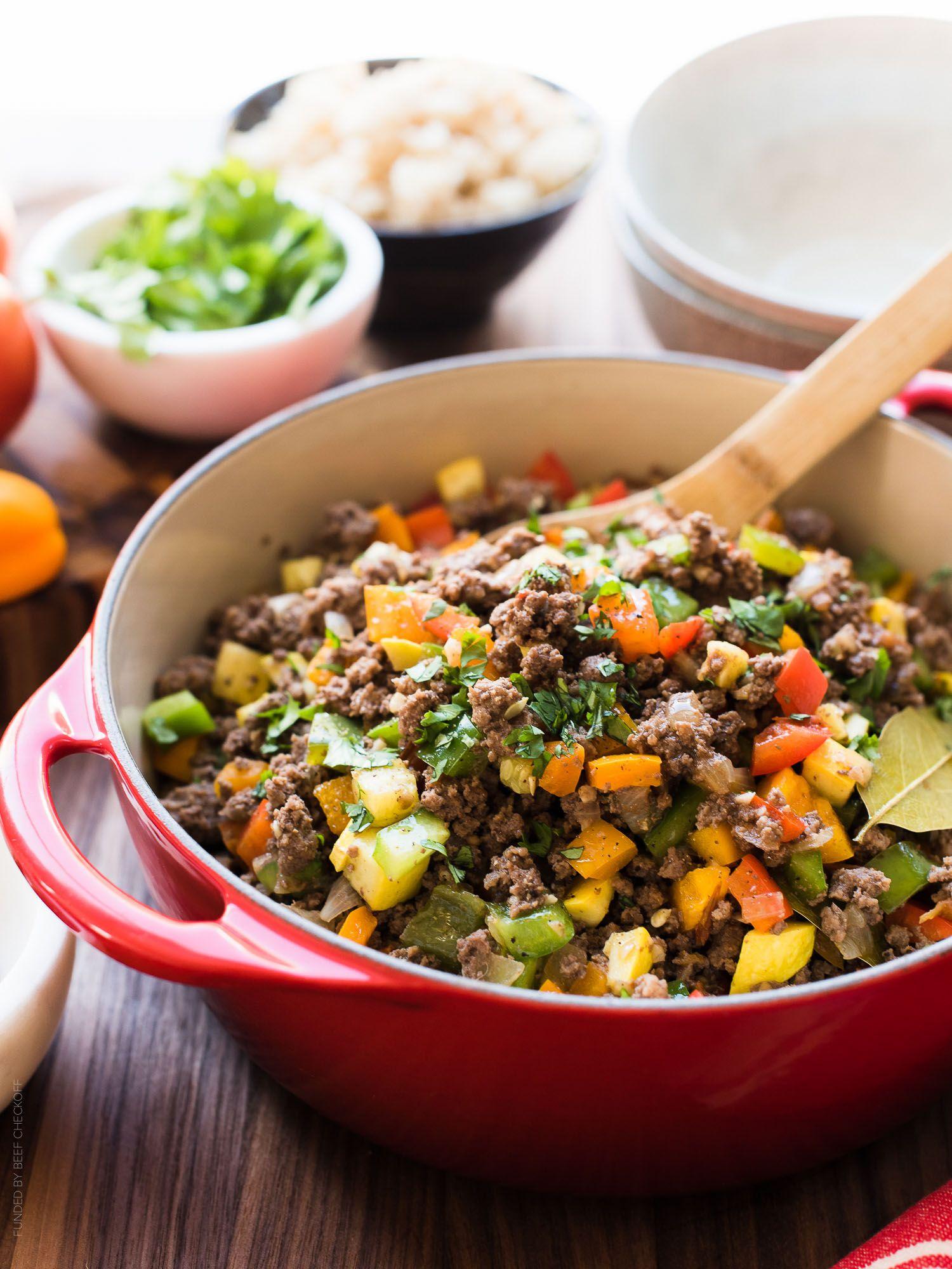 Filipino-style Picadillo Bowls | Recipe | Whole 30 recipes ...