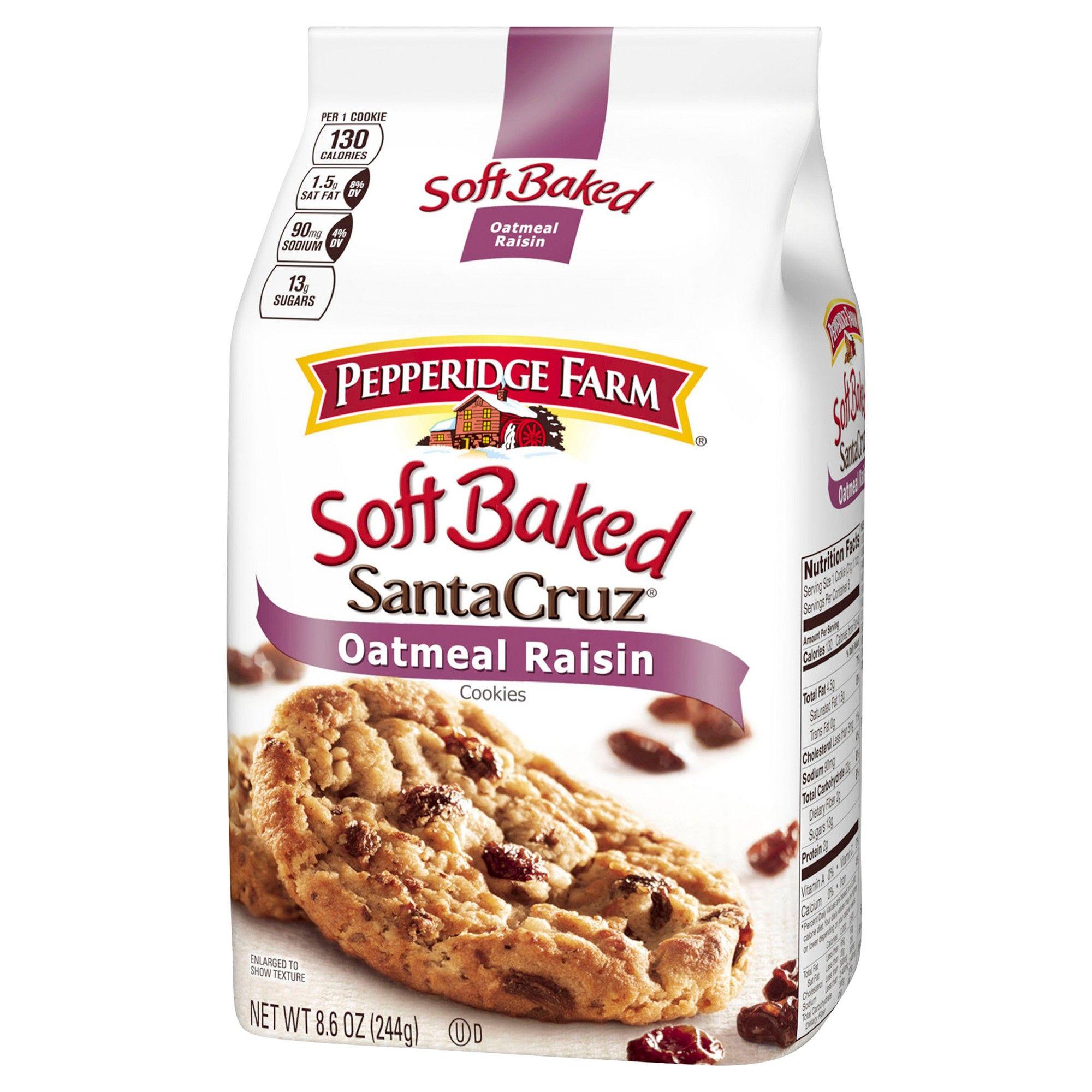 Pepperidge Farm Soft Baked Oatmeal Raisin Cookies 8.6oz