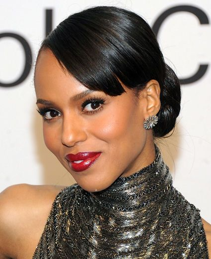 Pin By Kerry Dow On Great Hair Tricks And Tips: Kerry Washington's Makeup Evolution