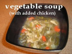 Dehydrated vegetable soup with added chicken more info at easy dehydrated vegetable soup with added chicken camp foods easy forumfinder Image collections