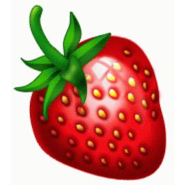 картинка для детей клубника