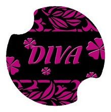 Diva Carsters Car Cup Coaster