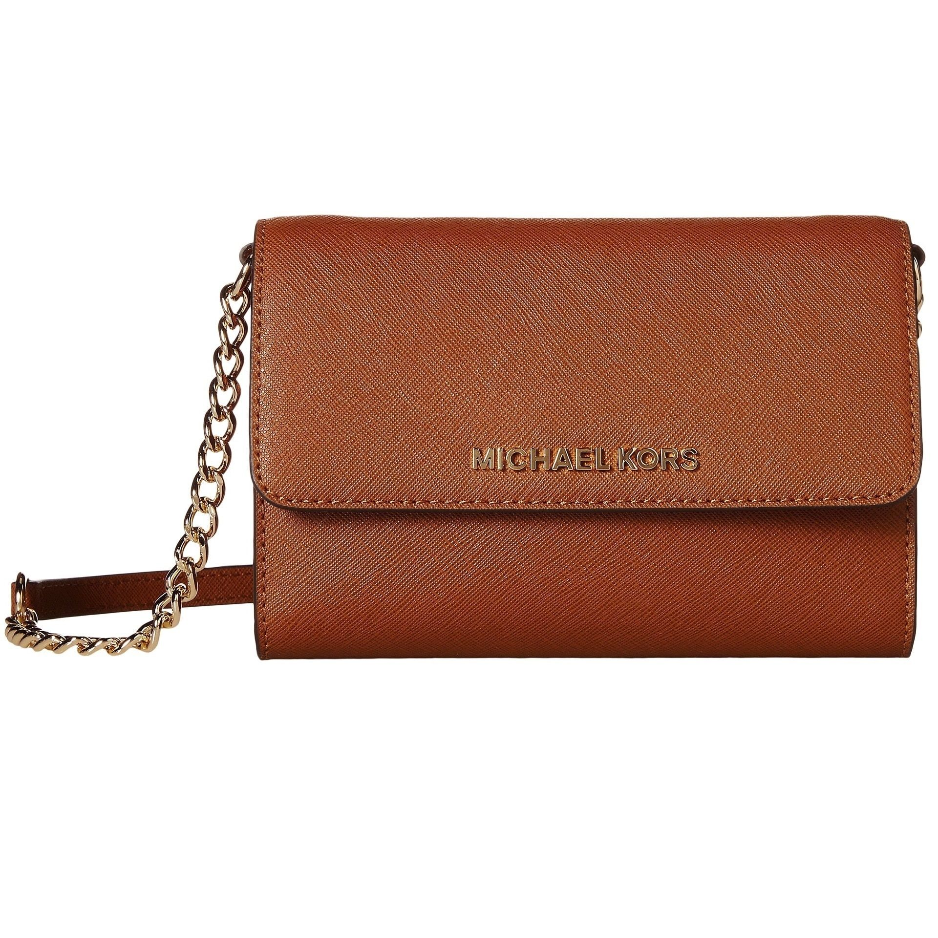Michael Kors Jet Set Travel Phone Crossbody Handbag