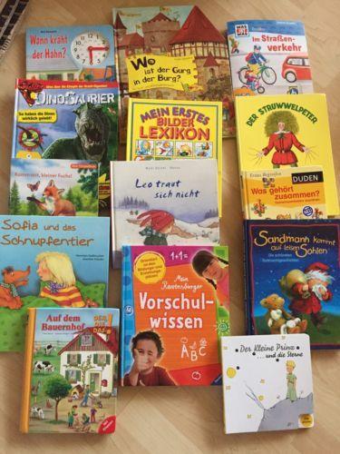 Bücherpaket 14 neuwertige Kinderbücher TOPsparen25info , sparen25