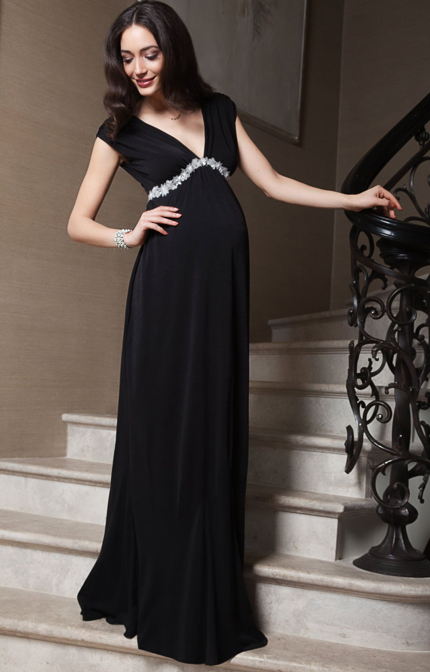 Aurora gown long maternity gowns maternity clothing and long black aurora gown long maternity wedding dressesmaternity clothingmaternity evening ombrellifo Images