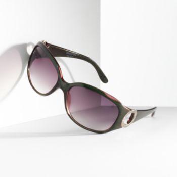 Simply Vera Vera Wang Round Ring Oval Sunglasses - Women