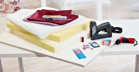 bastelanleitung kopfteil f r das bett wohnen garten. Black Bedroom Furniture Sets. Home Design Ideas