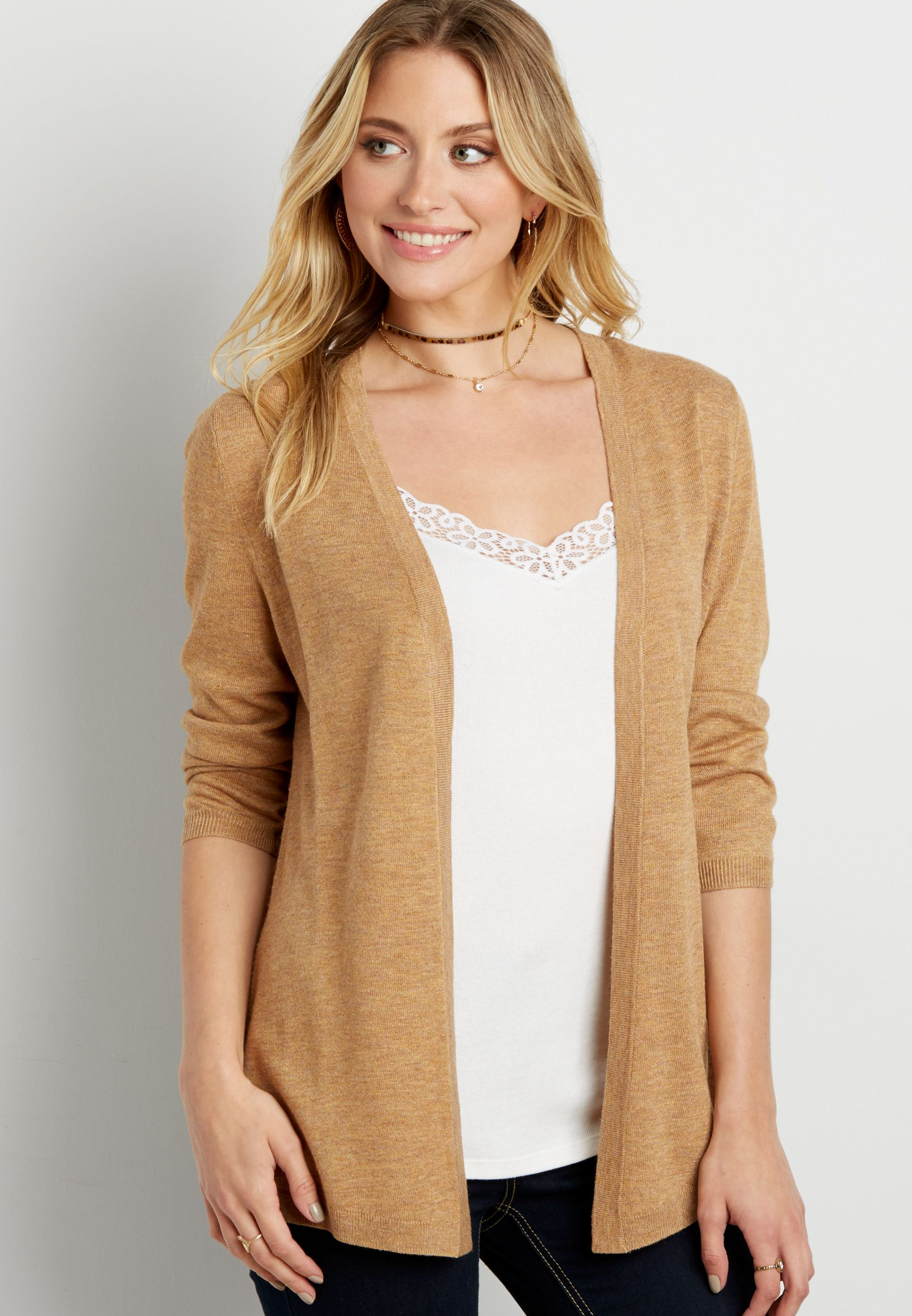 8711c8f31d the classic cardigan with pointelle stitched back (original price ...