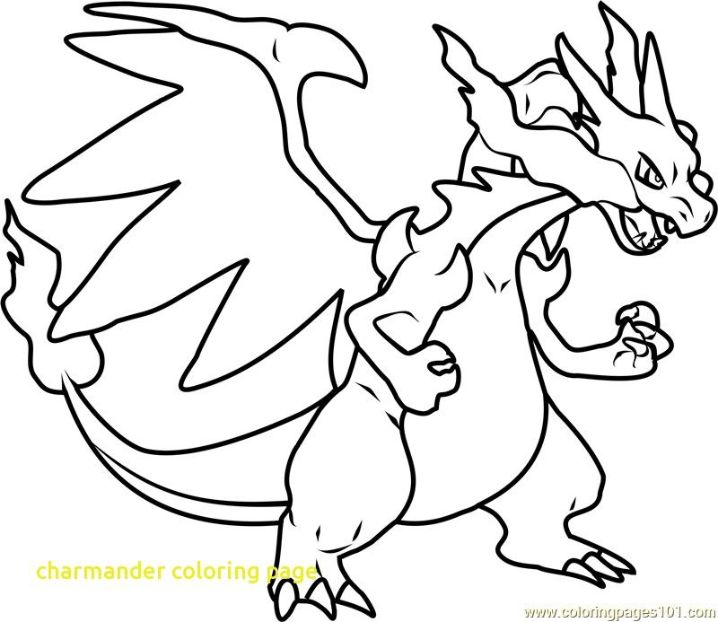 Image Result For Charmander Coloring Pages Pikachu Coloring Page