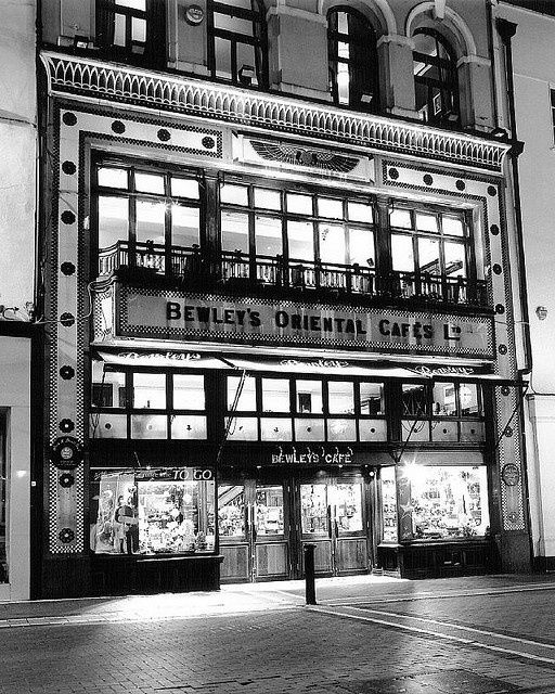 Bewleys oriental cafe dublin landmark and tradition