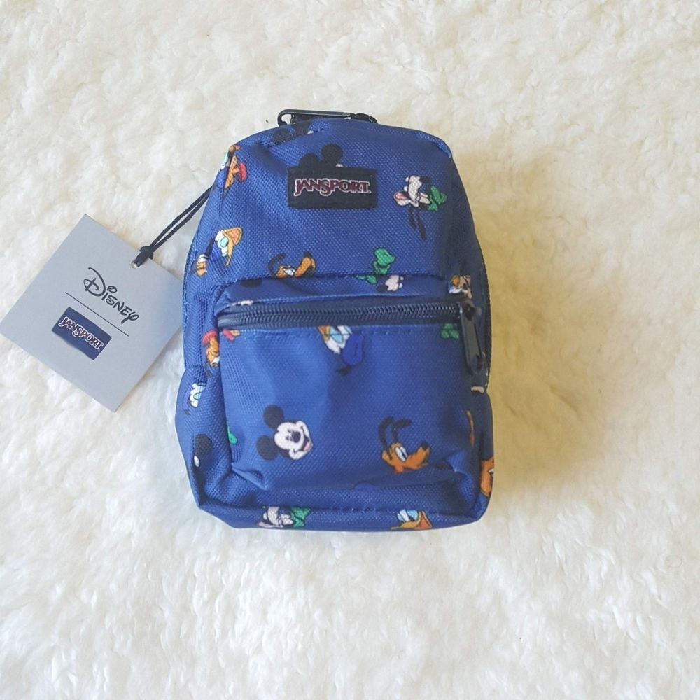 ff8639ed644 JanSport Lil  Break Backpack Disney Gang Dot Unisex Mini Pouch Bag Coin  Purse  JanSport  Backpack  disney  mickeymouse  minniemouse